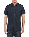 Short Sleeve Arrow Woven Shirt
