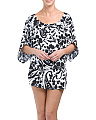 Cinch Waist Kaftan Cover-up