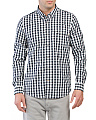 Long Sleeve Plaid Coolmax Shirt