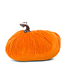 8in Velvet Pumpkin