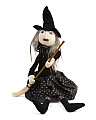 Plush Halloween Witch