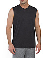 Space Dye Sleeveless Tee