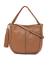 Ridere Leather Hobo
