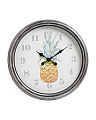 20in Pineapple Wall Clock