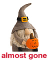 Made In India 12in Jack O Lantern Gnome