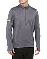 Long Sleeve Half Zip Running Shirt