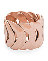 Made In Bali 14k Rose Gold Plate Silver Interlocking Circles Ring