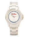 Men's Mississippi Rebels Bracelet Watch