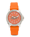 Women's Oklahoma State Silicone Strap Watch