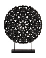 Round Buddhist Wheel Ornament