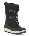 Powder Valley Suede Winter Boots