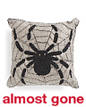 Made In India 14x14 Beaded Spider Pillow