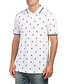 Sailboat Print Polo