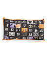 14x27 Halloween Countdown Pillow