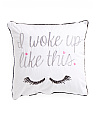20x20 I Woke Up Like This Reversible Pillow
