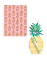 Pineapple Stationary Set