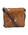 Made In Italy Leather Messenger