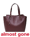 Made In Italy Two Handle Leather Tote
