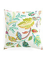 Made In USA 22x22 Indoor Outdoor Floral Pillow