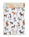 52x70 Easy Care Costumed Dogs Tablecloth