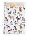 60x84 Easy Care Costumed Dogs Tablecloth