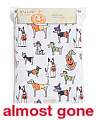 60x104 Easy Care Costumed Dogs Tablecloth