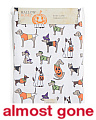 Easy Care 70in Round Costumed Dogs Tablecloth