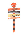Made In India Jack O' Lantern Yard Sign