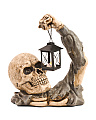 Led Skull And Lantern Decoration