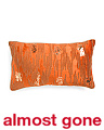 Made In India 14x24 Velvet Beaded Pillow