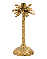 12.5in Palm Tree Candlestick