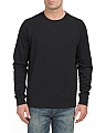 Fleece Raglan Crew Neck Shirt