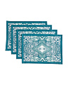 Made In India 13x18 Set Of 4 Placemats