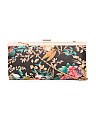 Washed Floral Clutch