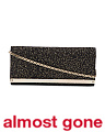 Made In Italy Leather Accessory Clutch