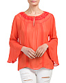 Clarisa Bell Sleeve Top