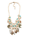 Genuine Shell Statement Necklace