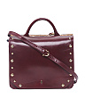 Couplet Leather Briefcase