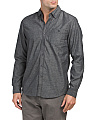 Modern Fit Solid Heather Shirt