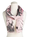 Made In Italy Butterfly Scarf