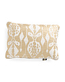 Made In India 14x20 Gold Foil Pillow
