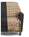 Luxury Cashmere Tartan Throw