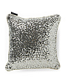 Made In India 14x14 Emery Sequin Pillow