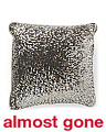 Made In India 16x16 Emery Sequin Pillow