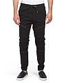 Destructed Moto Twill Joggers