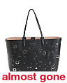 Made In Italy Medium Leather Shopper Tote