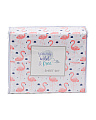 Kids Flamingo Sheet Set