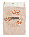 Made In India Thankful Table Runner