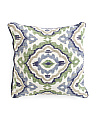 Made In India 20x20 Valencia Medallion Pillow
