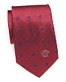 Made In Italy Ditsy Print Silk Tie